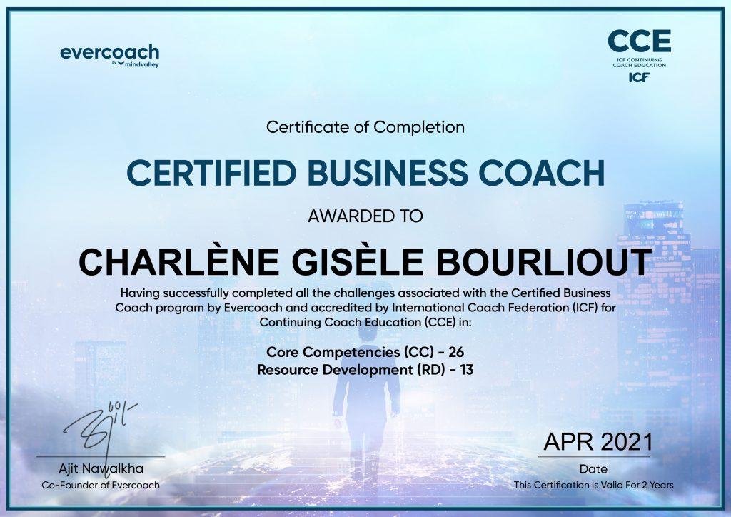 Certified Business Coach