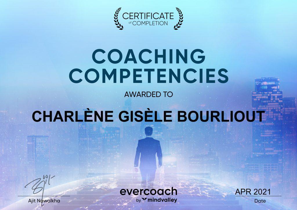 Coaching Competencies- certificate